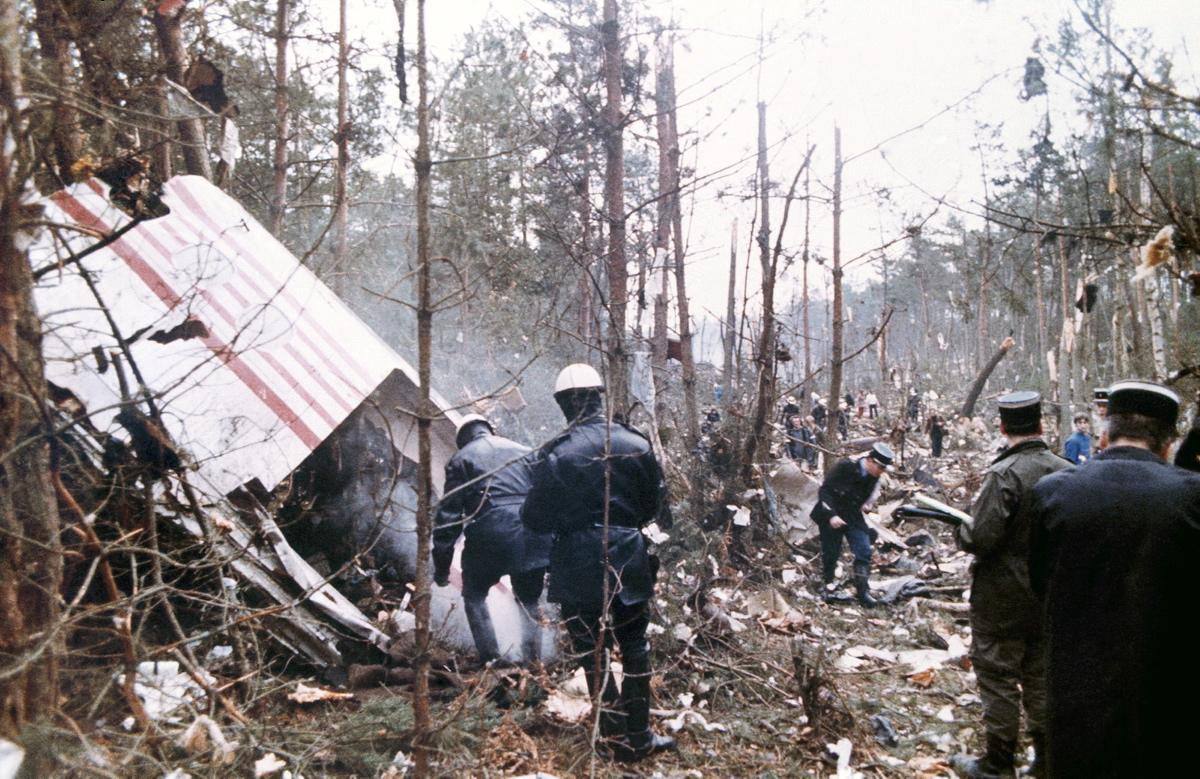 Turkish Air Flight 981, March 3, 1974