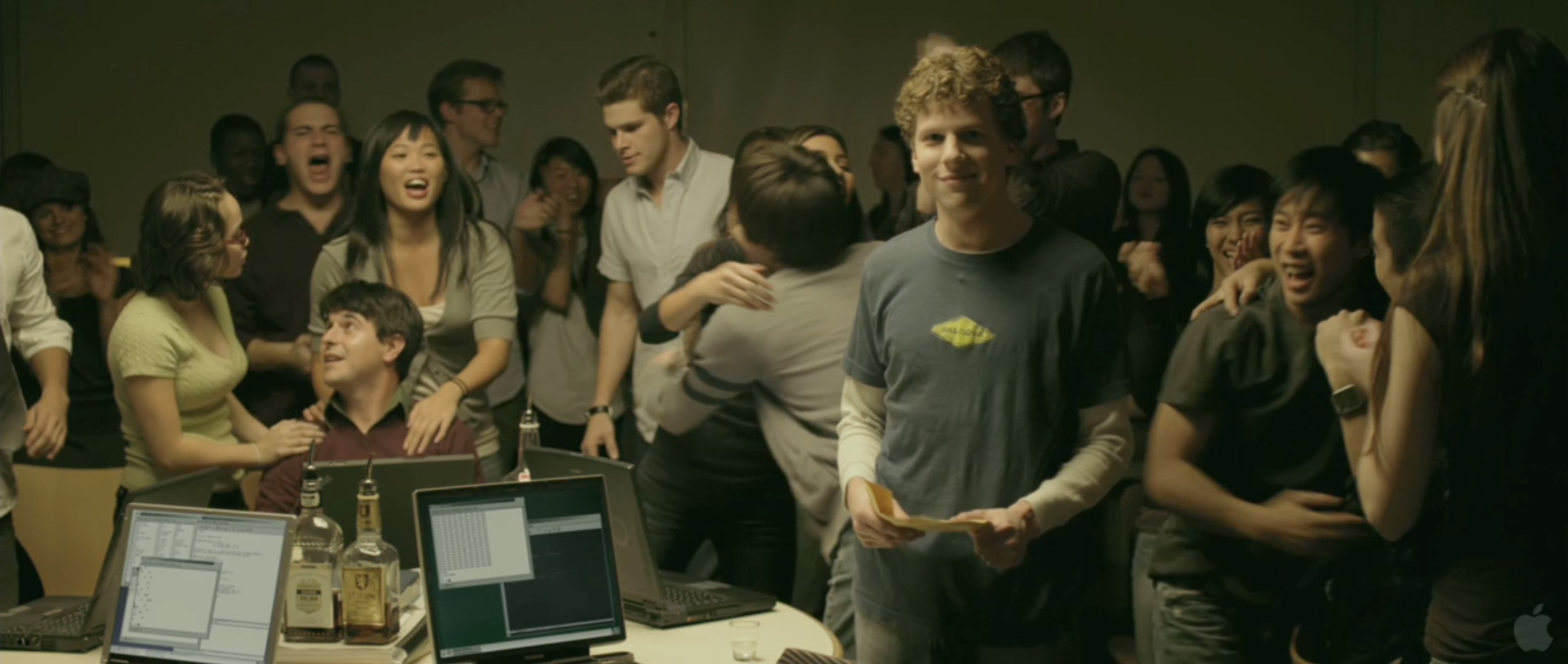 the social network movie essay Why mark zuckerberg should like the social network  this makes the social network more than just a movie about facebook, it makes it the first movie about silicon valley it means facebook .